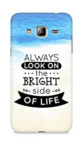 Amez Always look on the Bright Side of Life Back Cover For Samsung Galaxy J3