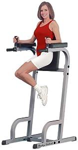 Body-Solid® Vertical Knee Raise & Dip