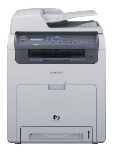 Samsung CLX 6250FX - Multifunction ( fax / copier / printer / scanner ) - colour - laser - copying (up to): 25 ppm (mono) / 25 ppm (colour) - printing (up to): 25 ppm (mono) / 25 ppm (colour) - 350 sheets - 33.6 Kbps - Hi-Speed USB, 10/100 Base-TX, USB host