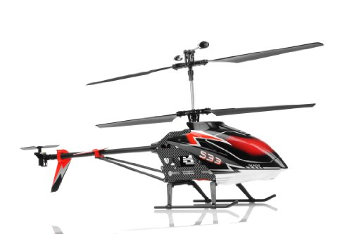 Amazon.com : Syma S33 3 Channel RC Helicopter 2.4ghz (Black) : Hobby Rc Helicopters