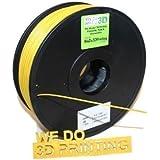 3D Printer Filament ABS 1.75mm - Gold 1Kg Reel / Spool - Makerbot, UP, Leapfrog