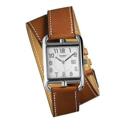 Hermes Cape GM Cod Ladies Quartz Watch - 021459WW00