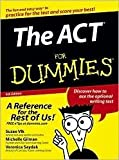 img - for The ACT For Dummies 4th (fourth) edition Text Only book / textbook / text book