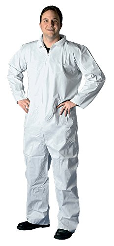 Buffalo Industries (68532) Non-Hooded SMS Disposable Coverall -