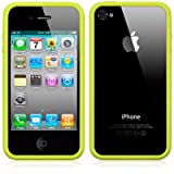 BUMPER CASE FOR APPLE IPHONE 4S / IPHONE 4 - GREEN PART OF THE QUBITS ACCESSORIES RANGEby Qubits