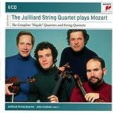 "The Juillard String Quartet plays Mozart : The Complete ""Haydn"" Quartets and String Quintets"