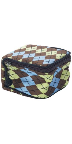 Argyle Silk Cosmetic Case