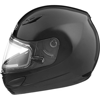 Gmax Gm48S Men'S Winter Sport Snowmobile Helmet - Black With Electric / Small