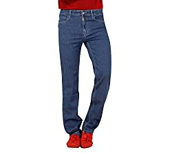 Carrie Men's Regular Fit Jeans (CJ_B602_Light Blue_32)