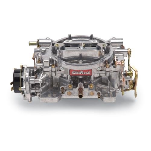 Edelbrock 1406 Performer 600 CFM Square Bore 4-Barrel Air Valve Secondary Electric Choke Carburetor (Edelbrock Carburetor Adapters compare prices)