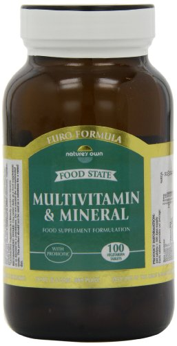 Natures Own Multivitamin and Mineral 100 Tablets