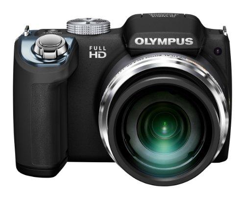 Olympus SP-720UZ Digital Ultra Zoom Camera - Black (14MP, 26x Wide Optical Zoom) 3 inch LCD