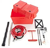 JEGS Performance Products 10270 Trunk Mount Battery Box Kit