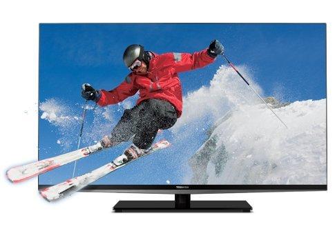 Toshiba 47 3D LED HDTV 240Hz 1080p Full HD Bezel-less Design (47L7200U)