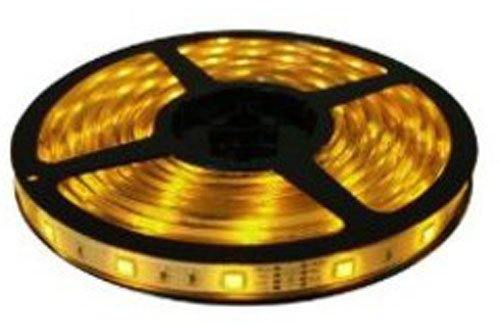 Cbconcept 12V30Smd5050-5M-Y Low Voltage 12 -Volt High Output Smd5050 Flexible Led Strip Light, 16.4-Feet Spool, Yellow