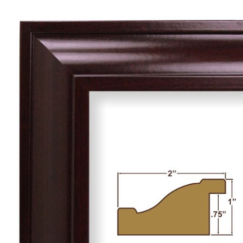 """Craig Frames 1.75/"""" Wide Weathered Country Black Picture Frames /& Poster Frames"""