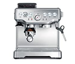 Breville BES860XL Barista Express Espresso Machine with Grinder from Breville