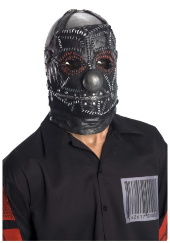 Rubie's Costume Co Slipknot Clown Mask, Black, One Size