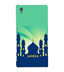 printtech Building Holy Back Case Cover for Sony Xperia Z5::Sony Xperia Z5 Dual