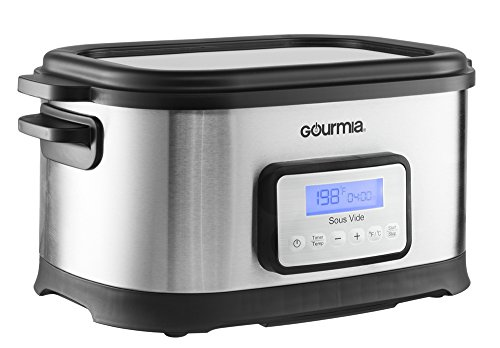 Review Gourmia GSV-550 9 quart Sous Vide Water Oven Cooker with Digital Timer and Temperature Contro...
