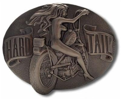 Hard Tail Biker Belt Buckle