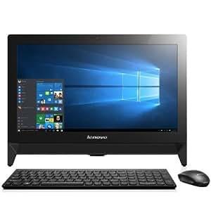 Lenovo C20 F0BB0020JP Windows10 Home 64Bit Celeron デユアルコア 4GB 500GB DVDスーパーマルチ 無線LANac/a/b/g/n webカメラ搭載 省スペース19.5型液晶一体型デスクトップパソコン