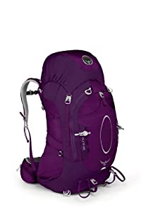 Osprey Aura 65 Backpack (Eggplant Purple, Small)