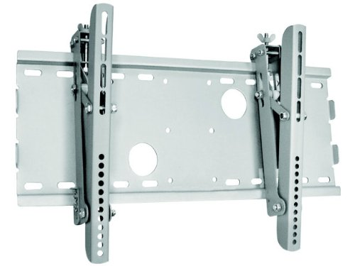 "New Universal Adjustable Tilt Tilting Tv Wall Mount Bracket For Lcd Led Plasma - Silver - (Max 165 Lbs, 24""-37""*Inch) *Max Vesa 450X250 Insignia Ns-22E450A11 Ns-32L450A11 Ns-32Lb451A11 Ns-32E570A11 Ns-37L550A11"