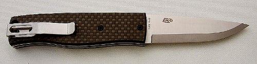 Brisa EnZo PK70 Carbon Fiber Folder Knife