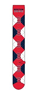 Boston Red Sox Argyle Crew Socks by For Bare Feet