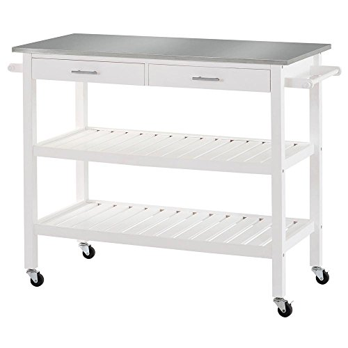 Kitchen Cart Height: Sandusky Lee MKT472036 Stainless Steel Top Kitchen Cart