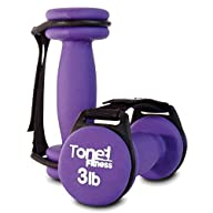 Tone Fitness Walking Dumbbells with H…