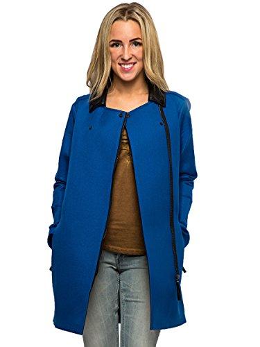Silvian Heach -  Cappotto  - Impermeabile - Maniche lunghe  - Donna Blue 12 / Medium