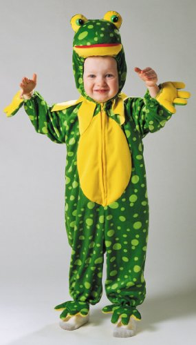 Frog Spotted Plush Infant Costume