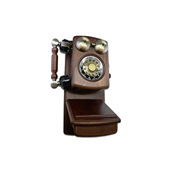 Golden Eagle Country Wood Phone WALNUT