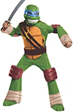 Rubies Costume Co  Teenage Mutant Ninja Turtles Deluxe Leonardo Costume, Small