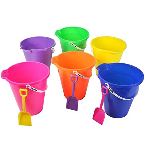 Beach Toys For Girls : Quot beach pails shovels set pack great toys for