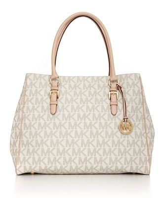 Michael Kors Large Work Tote Vanilla