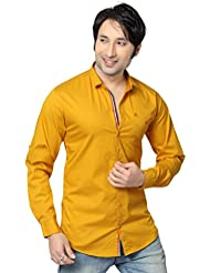 RX3 By Redox Men's Slim Fit Cotton Shirt [9536-FULL] (25 Colours)