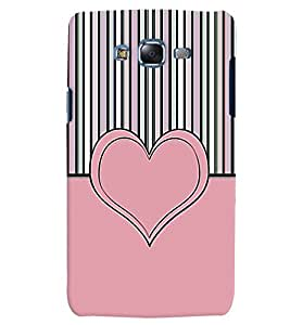 Citydreamz Pink Heart Love Hard Polycarbonate Designer Back Case Cover For Samsung Galaxy Grand Prime G530H/G531H