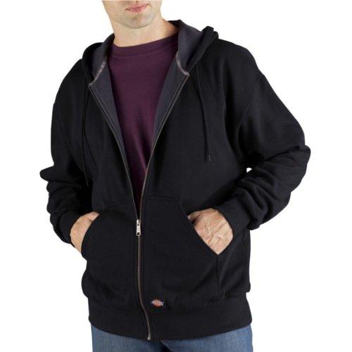 Dickies Men's Thermal Lined Fleece Jacket, Black, X-Large (Dickies Thermal Hoodie compare prices)