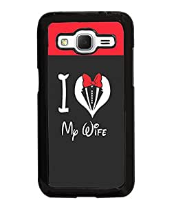 Fuson Love Quote Back Case Cover for SAMSUNG GALAXY CORE PRIME - D3958