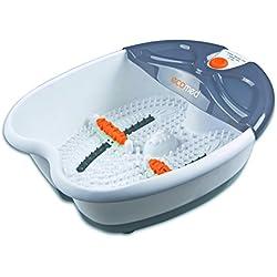 Ecomed 99067 - Bañera Spa para pies, color naranja