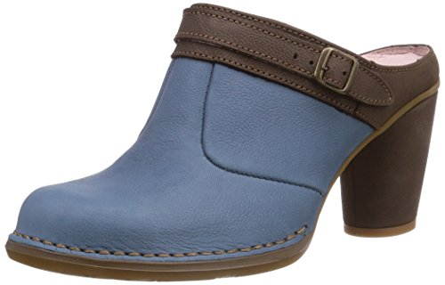 El NaturalistaColibri - Stivaletti a gamba corta senza chiusura, imbottitura leggera Donna , Blu (Blau (Arandano-Coco)), 40 EU