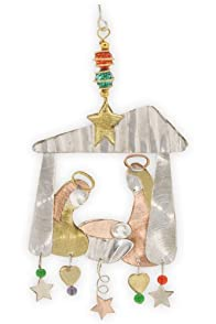 Pilgrim Imports Away In Manger Fair Trade Christmas Ornament