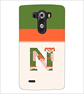 PrintDhaba GRANDbet N D-4705 Back Case Cover for LG G3 (Multi-Coloured)