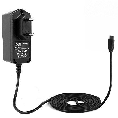 Aukru® Alimentation 5v 2000mA Chargeur Adaptateur Micro USB Pour Raspberry Pi 2 modele b et Modèle B+ ,Banana pi