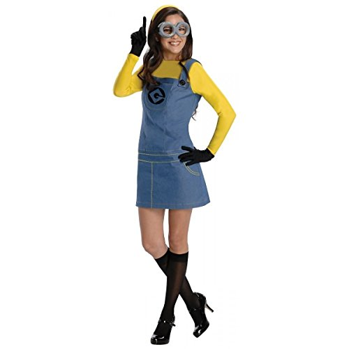[GSG Female Minion Costume Adult Funny Halloween Fancy Dress] (Female Master Chief Costumes)