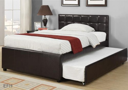 Upholstered Twin Beds 5595 front