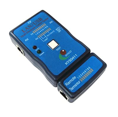 Brand NEW LAN / USB Multi-Modular PC Network Cable Tester and USB Cable Tester Cat-5 RJ-11 RJ-12 RJ-45